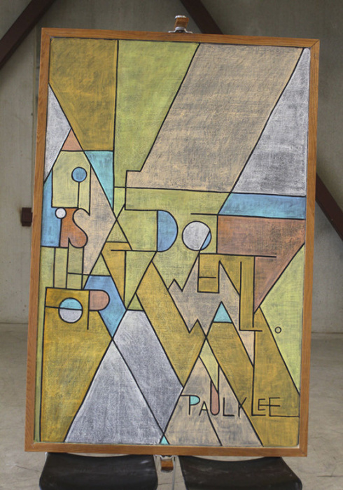 Paul Klee Quote Illustration