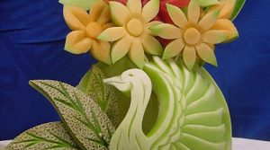 Edible Art - 16 Most Astonishing Fruit Carvings