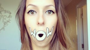 Cute lip art by talented makeup artist - Laura Jenkinson