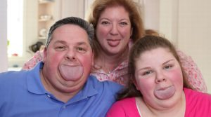 Byron Schlenker breaks record for World's Widest Tongue