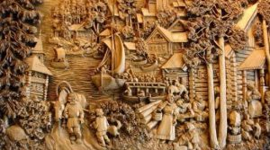 Zheng Chunhui's Masterpiece Wooden Art (4 yrs in making)