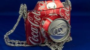 Recycled Art Created From Drinking Cans - By Makaon