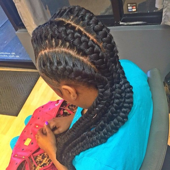 A Famous Hairstyle Goddess Braids