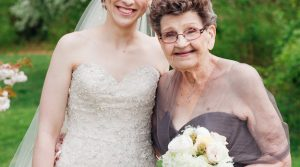 89 years old Nana Betty is the Perfect Bridesmaid