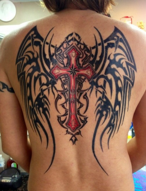 Angel-Tattoos-Designs-Wing-Tattoos-on-Back