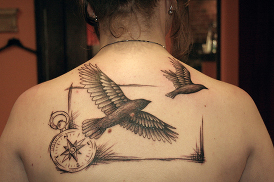 Bird Tattoo Designs 3
