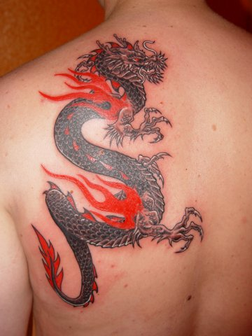 Dragon tattoo12