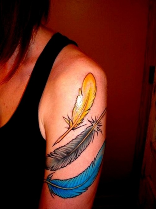 Feather-Tattoo-Designs-10