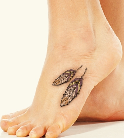 Feather Tattoos1