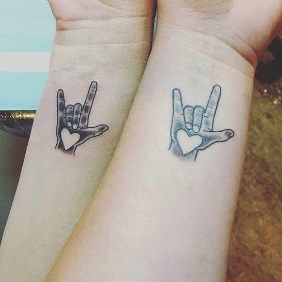 Mother daughter tattoo2