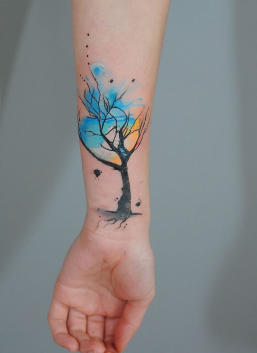 Tree tattoo22