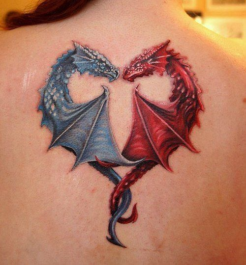dragon heart tattoo10