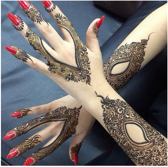 Beautiful Henna Tattoo Designs For Your Wrist: 60 Beautiful Henna Tattoos Designs