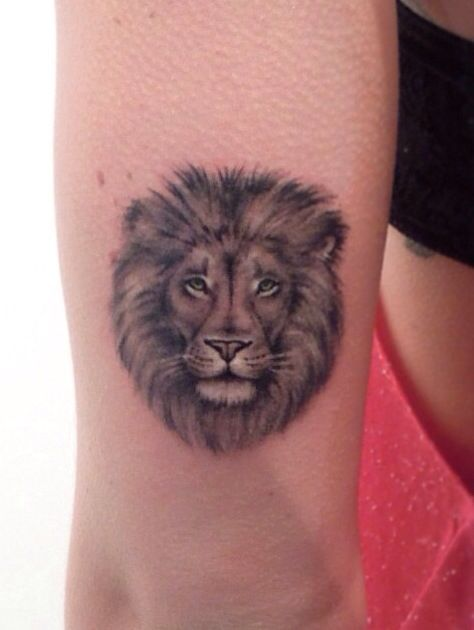 Lion Head Tattoo Of 35 Cool Lion Tattoo Designs For Men
