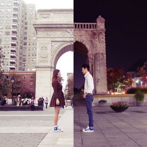 long-distance-relationship-korean-couple-photo-collage-half-shiniart 1