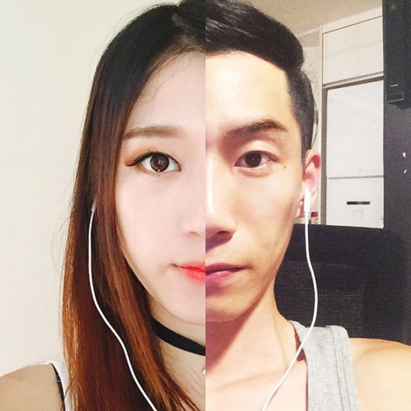 long-distance-relationship-korean-couple-photo-collage-half-shiniart 3