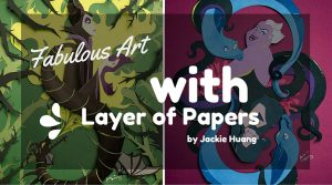 Fabulous Art with Layer of Papers by Jackie Huang (14 Photos)