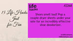 15 Life Hacks Just for Fun