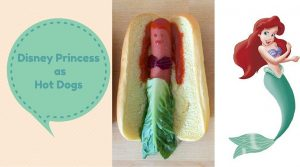 Hot Dogs Just Got Hotter With Disney Princess (4 Photos)