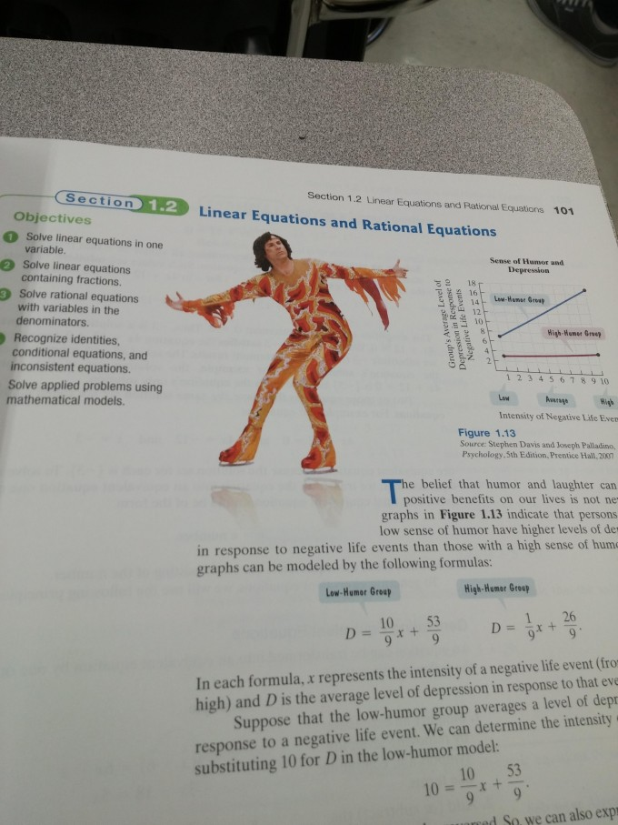 Will Ferrell is in my algebra 2 book