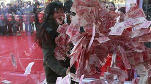 While in China - A Swimming Pool of Money