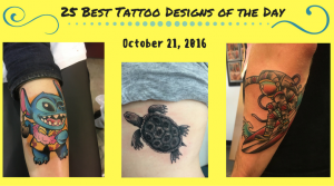 25 Best Tattoo Designs of the Day - October 21, 2016