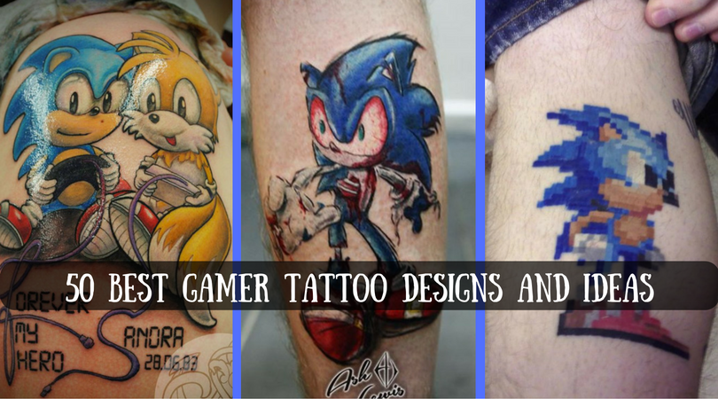 50 best gamer tattoo designs and ideas. Black Bedroom Furniture Sets. Home Design Ideas