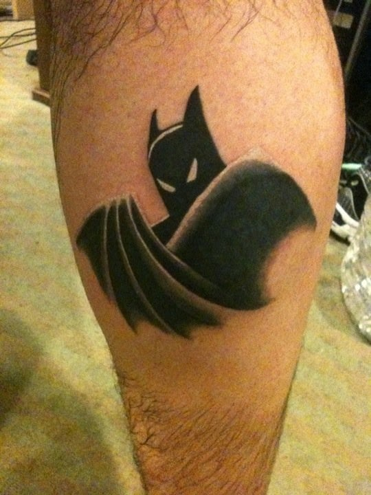 50 best batman tattoo designs and ideas for Batman logo tattoo